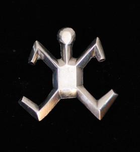 1950's Sterling Silver Navajo Pin
