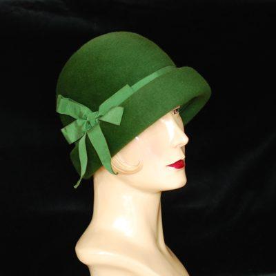 Toscano 1960's Green fur felt hat