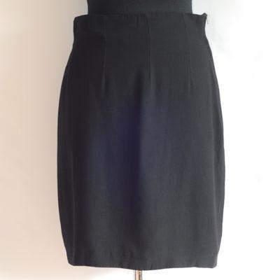 Alberta Ferretti Short Black Skirt - Italy