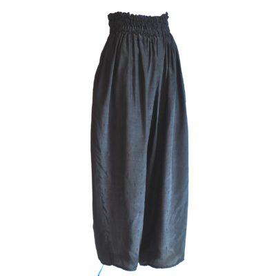La Belle et La Bette black palazzo pants, made in France