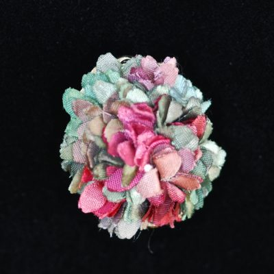 1940's Silk Flower Pin or Pendant