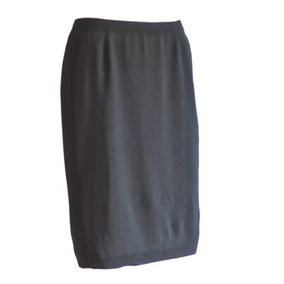Christian Dior black pencil skirt, made in Italy
