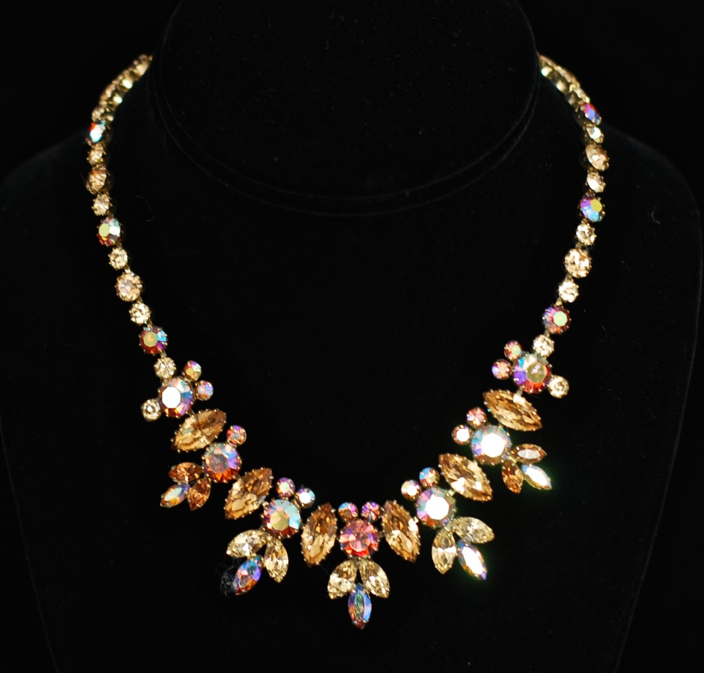 Gustave Sherman stunning vintage necklace - signed