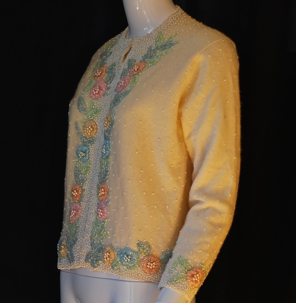 If you happen to have a hand beaded sweater from the fifties that needs  cleaning  the following description is a common-sense method of care and  cleaning ... 97609944f87