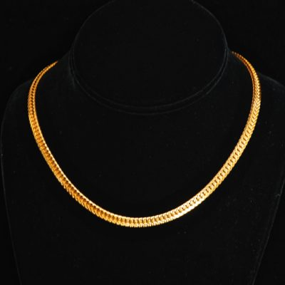 Vendome Mid-Century Gold Tone Necklace - Signed