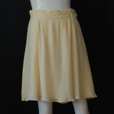 5cb017f17ac Saks Fifth Avenue Ivory Silk Skirt – Hong Kong
