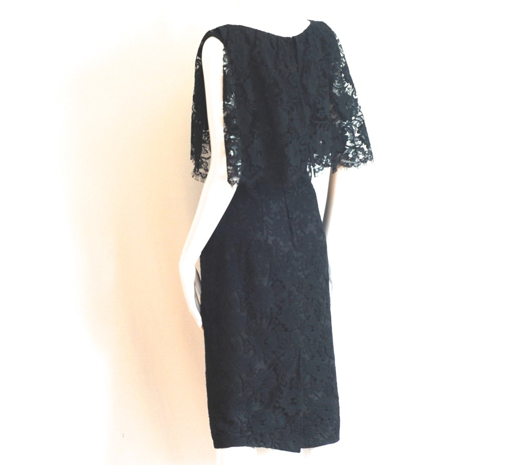 Irving Nadler, Montreal Late 1950's or early 1960's Cocktail Dress