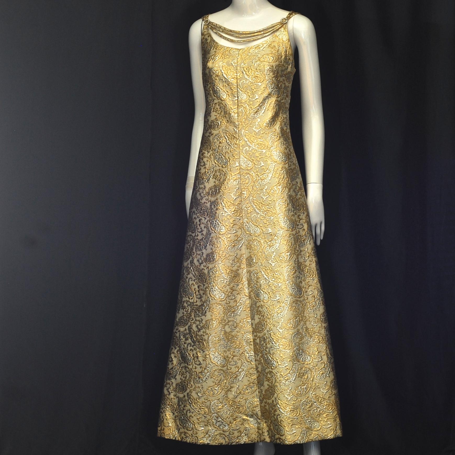 gold brocade dress off 67% - gidagkp.org