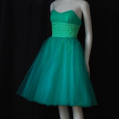 c8c783b70156 Betsey Johnson Evening Light Green Strapless Party Dress – USA