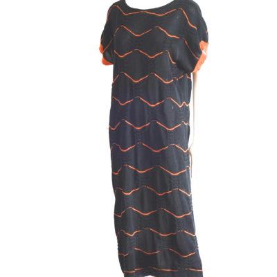 e4724b10da22 GriffeTricot A Norma Di Legge 1980 s Cotton Knit Shift Dress – Italy