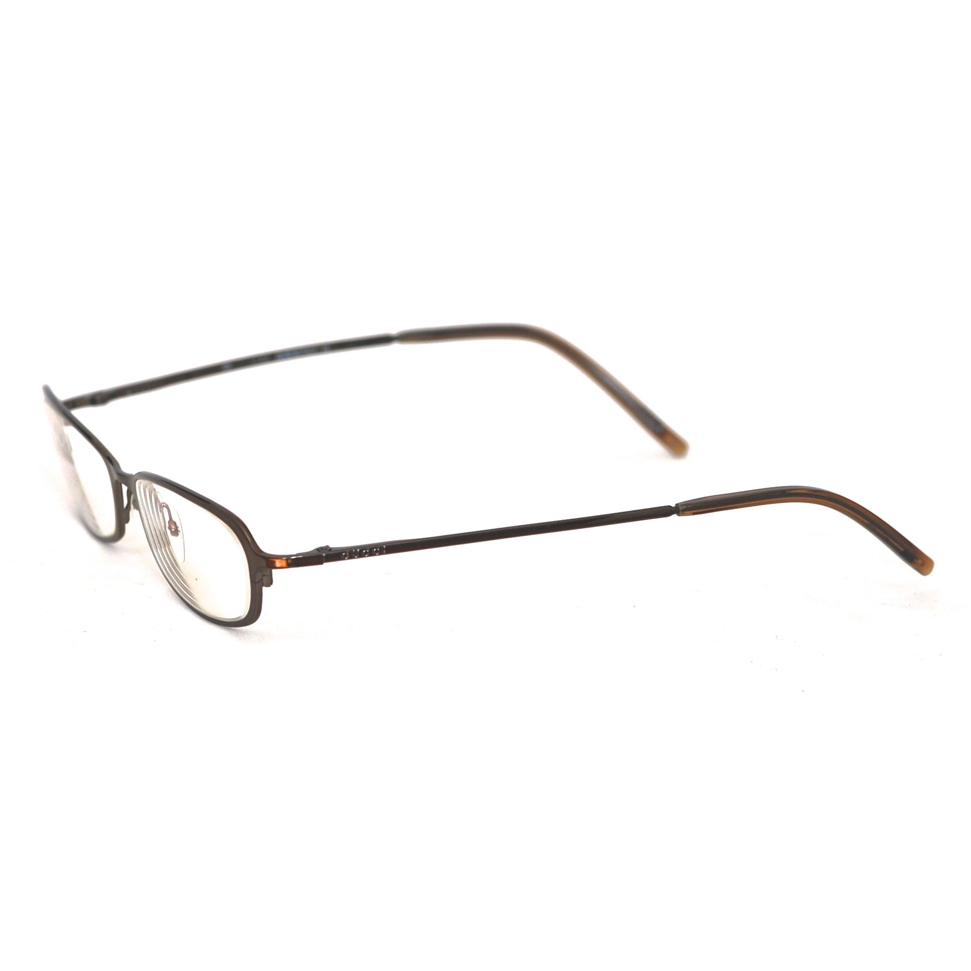 Gucci Eyeglass Frames In A Dark Metal With A Hint Of Bronze – Italy ...
