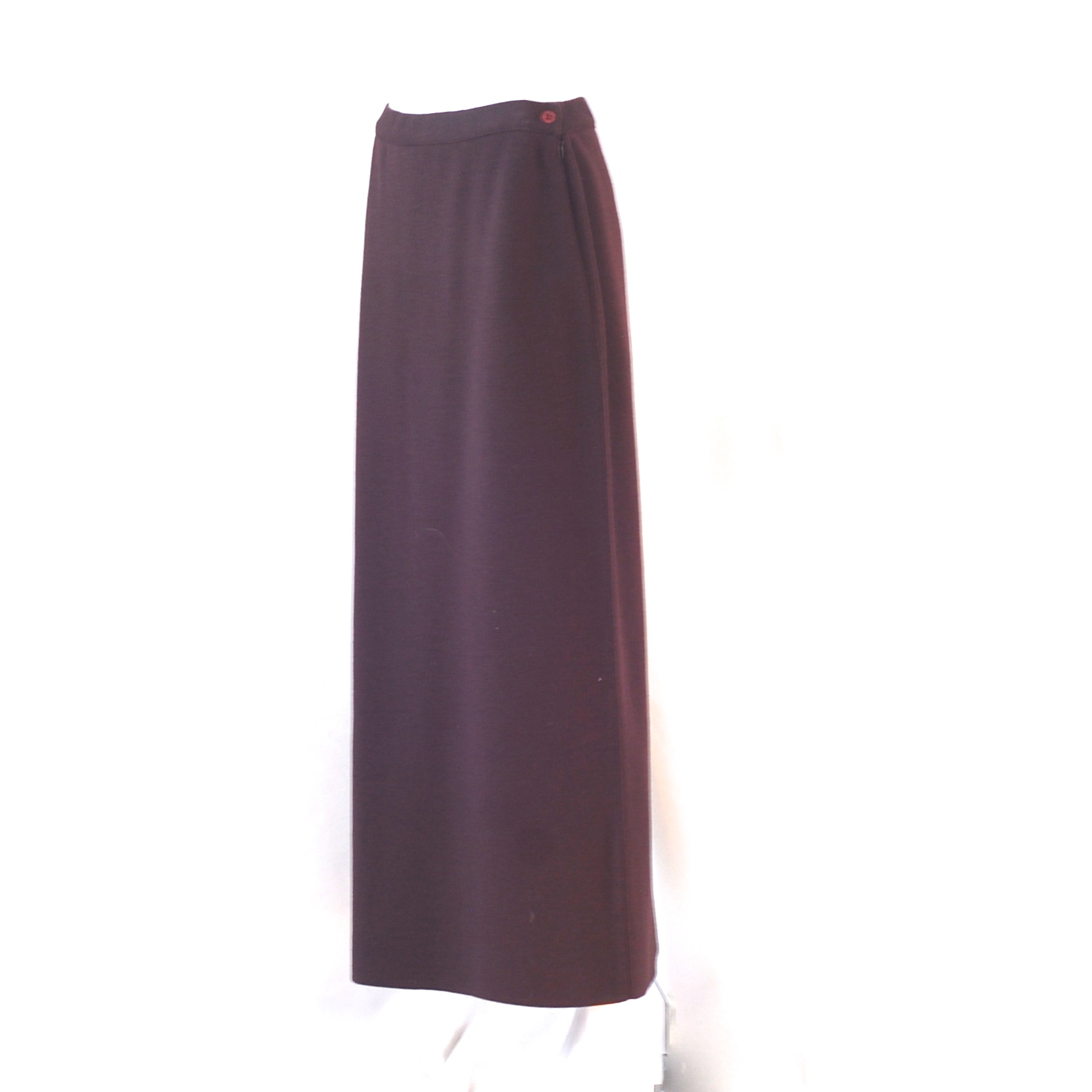 Your brown straight skirt