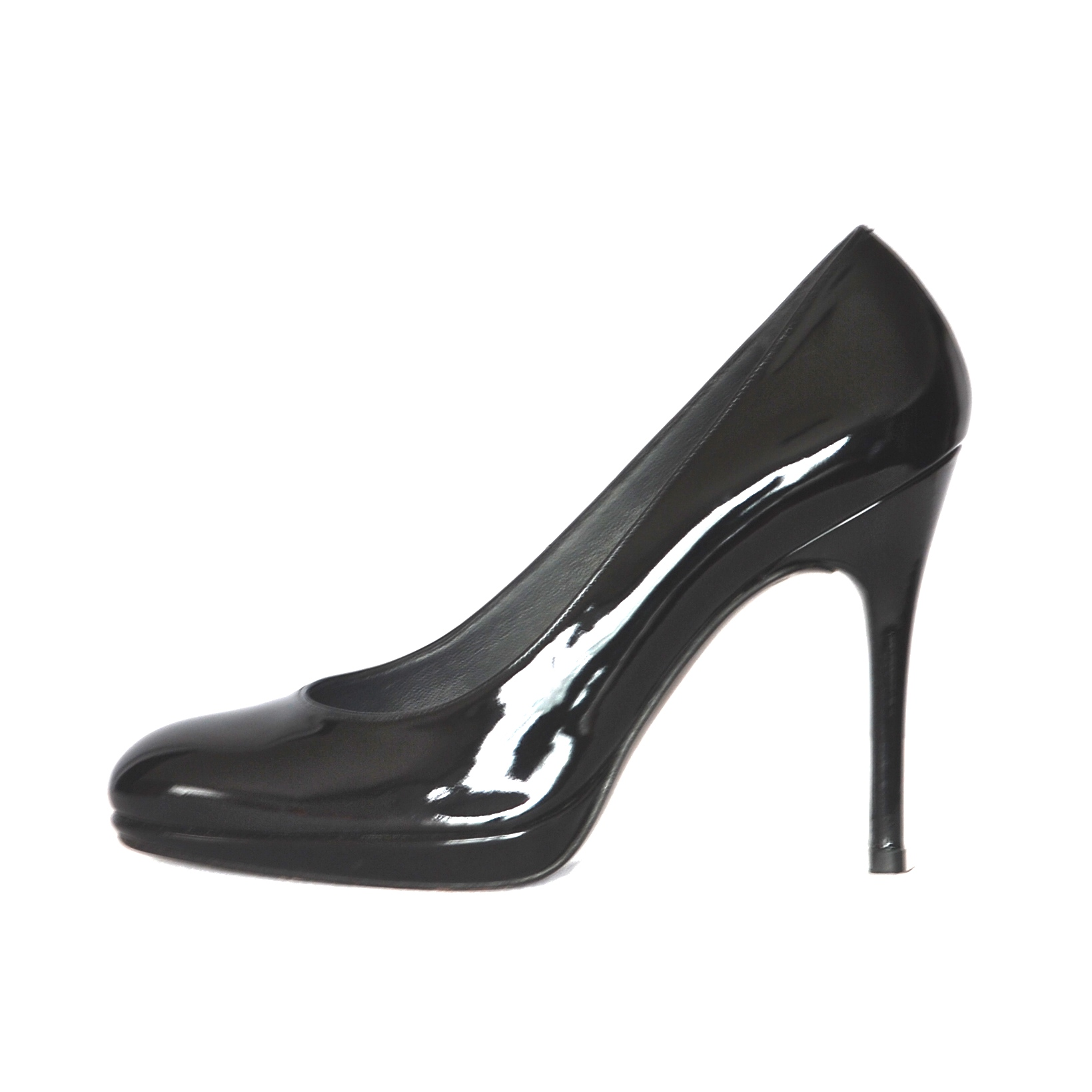 9ec31cb59 Stuart Weitzman Classic Black Patent Leather High Heel Pumps – Spain ...