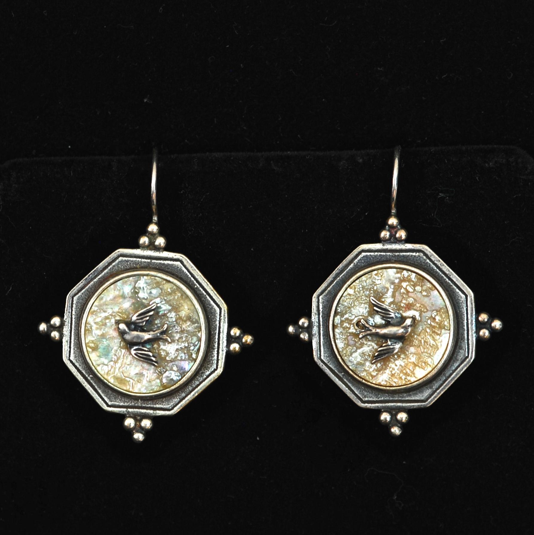 Antique Sterling Silver Earrings