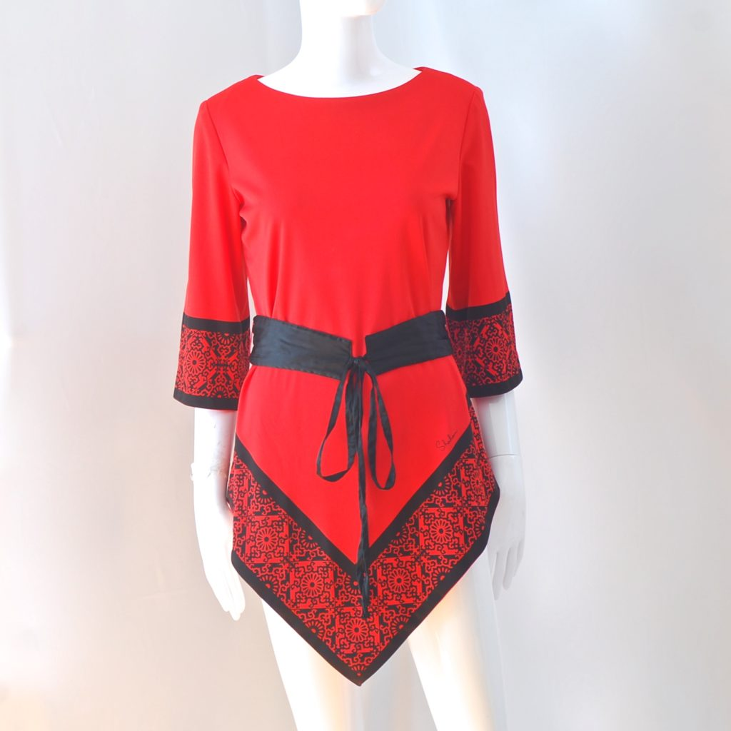 5cecb3a4f4c2 1970's Alfred Shaheen ~ A Miss Shaheen Mini Dress Swimsuit Cover Up